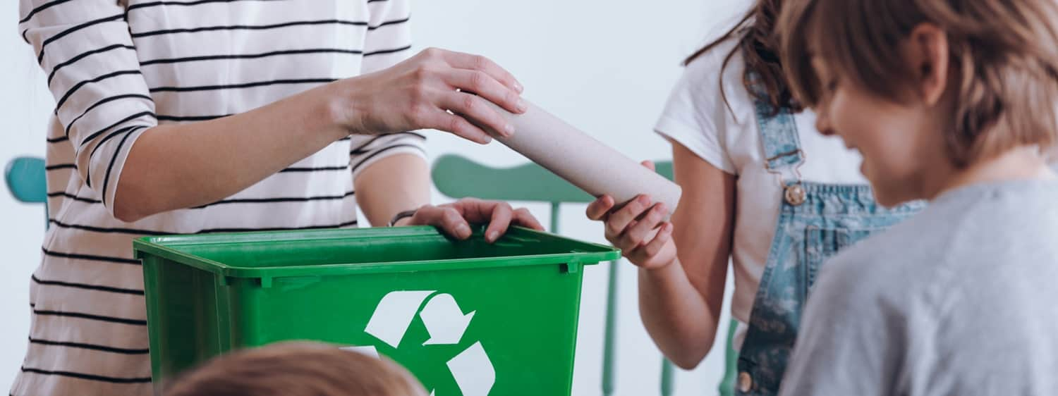 Regent University outlines simple steps that can help teachers encourage their students to be environmentally friendly.