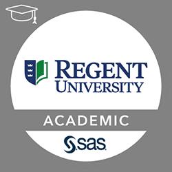 SAS-Regent University Academic Specialization in Business Analytics