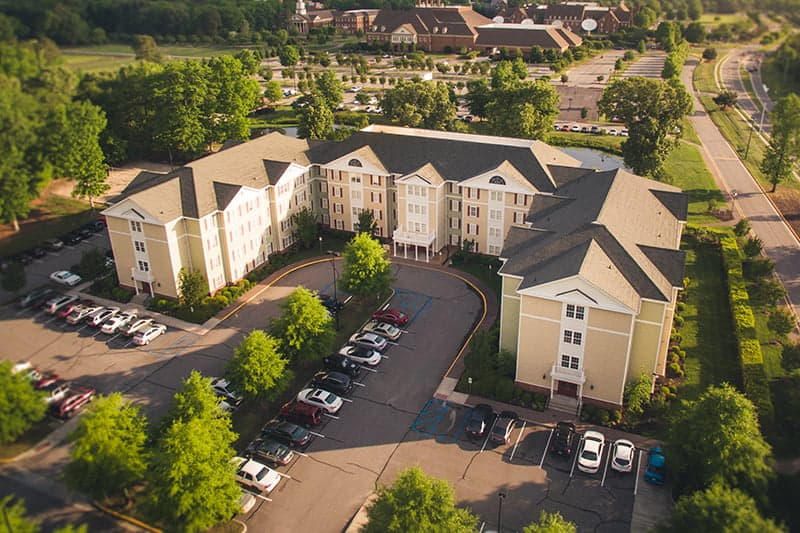 The Commons, Regent University's student housing facility.