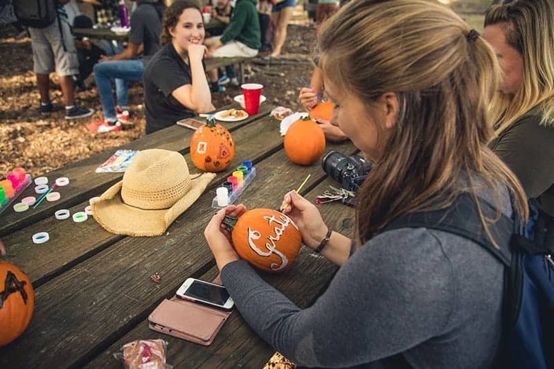 Make the most of your student life at Regent by participating in fun university events like the Harvest Fest.