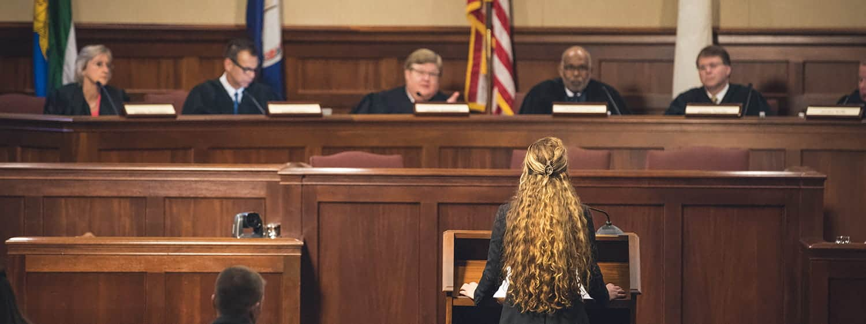 Sharpen your legal skills at Regent's law school.