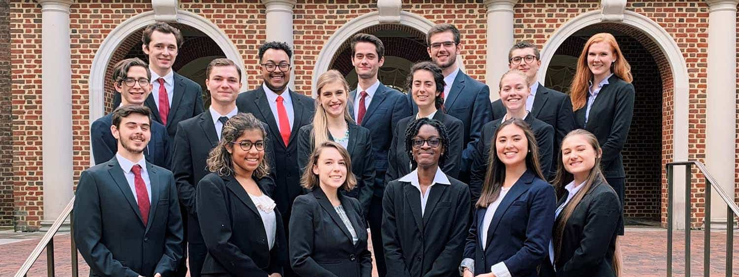 Learn about Regent Undergraduate Debate Association (RUDA), Regent's undergraduate debate and Moot Court team.