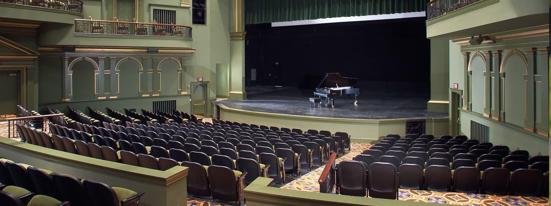 Regent University's Performing Arts Center Auditorium