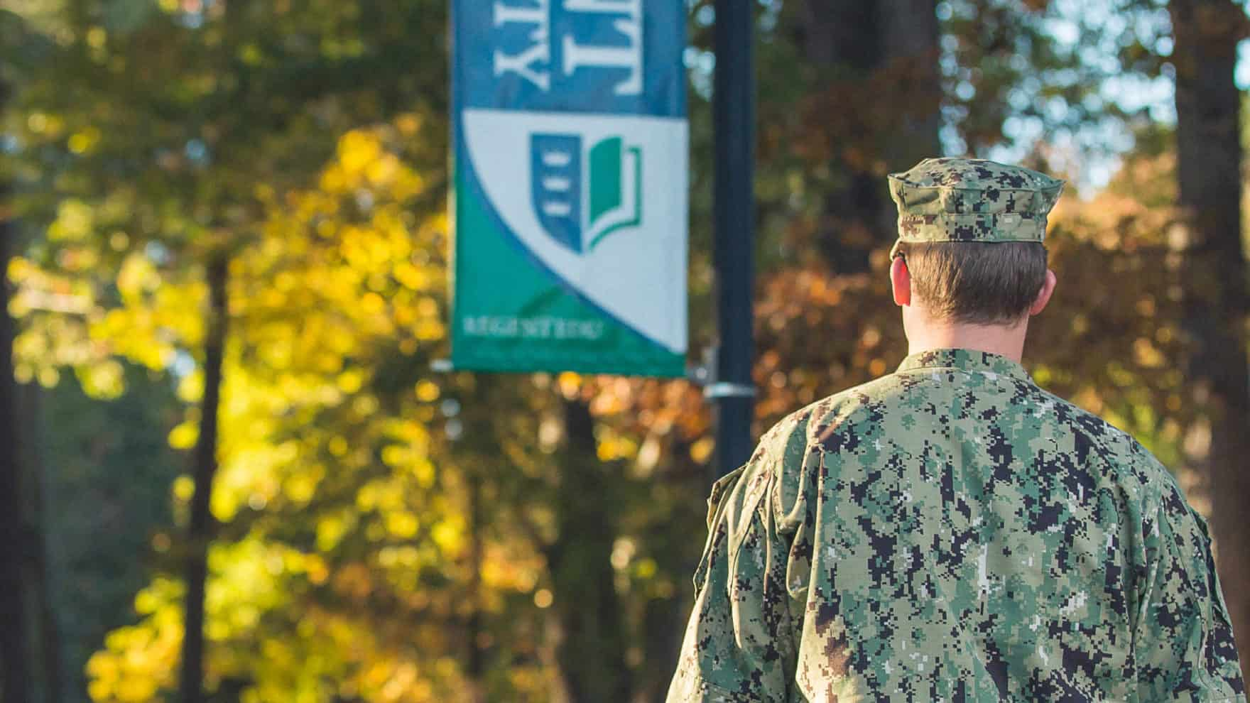 Military students can be eligible for Advanced Standing at Regent University.