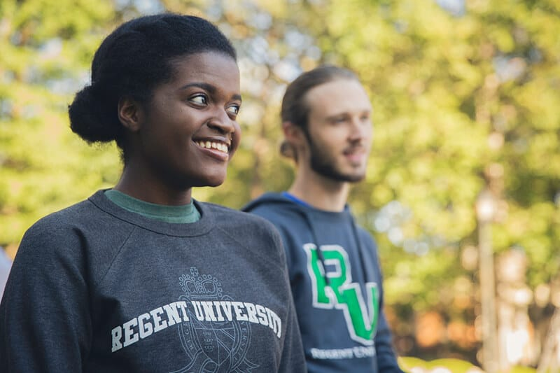 Apparel offered by the Regent University Gift Shop.