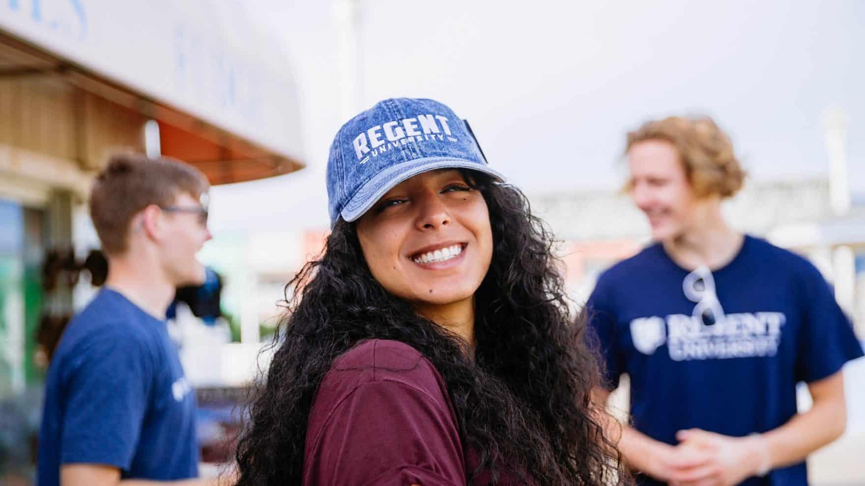 Students of Regent, a premier Christian university that offers numerous academic degree programs.