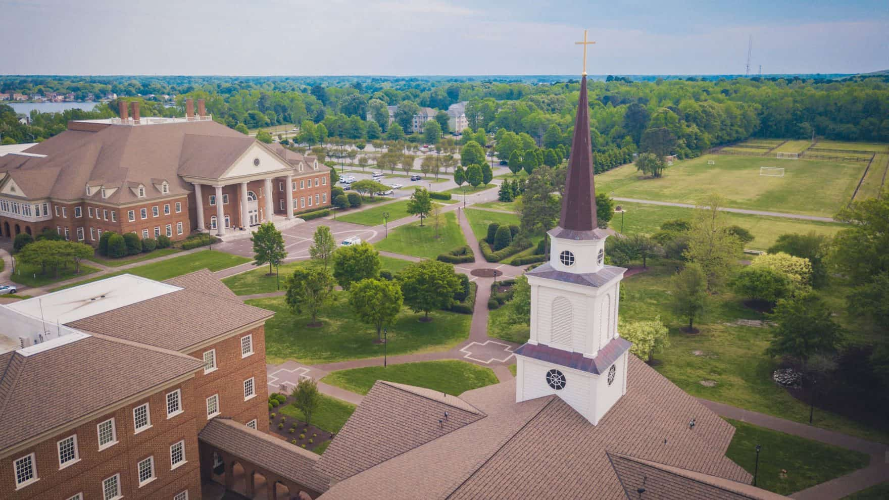 Image of Regent University chapel, $4k homeschool scholarship available