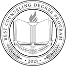 Regent University ranked #13 of the top 50 Counseling degree programs | Intelligent.com