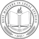 Regent University ranked #8 of the top 45 Master's in Legal Studies degree programs | Intelligent.com
