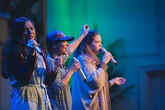 Worship leaders at UnChapel.