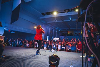 Night of Worship at Regent, a premier Christian college located in Virginia Beach.