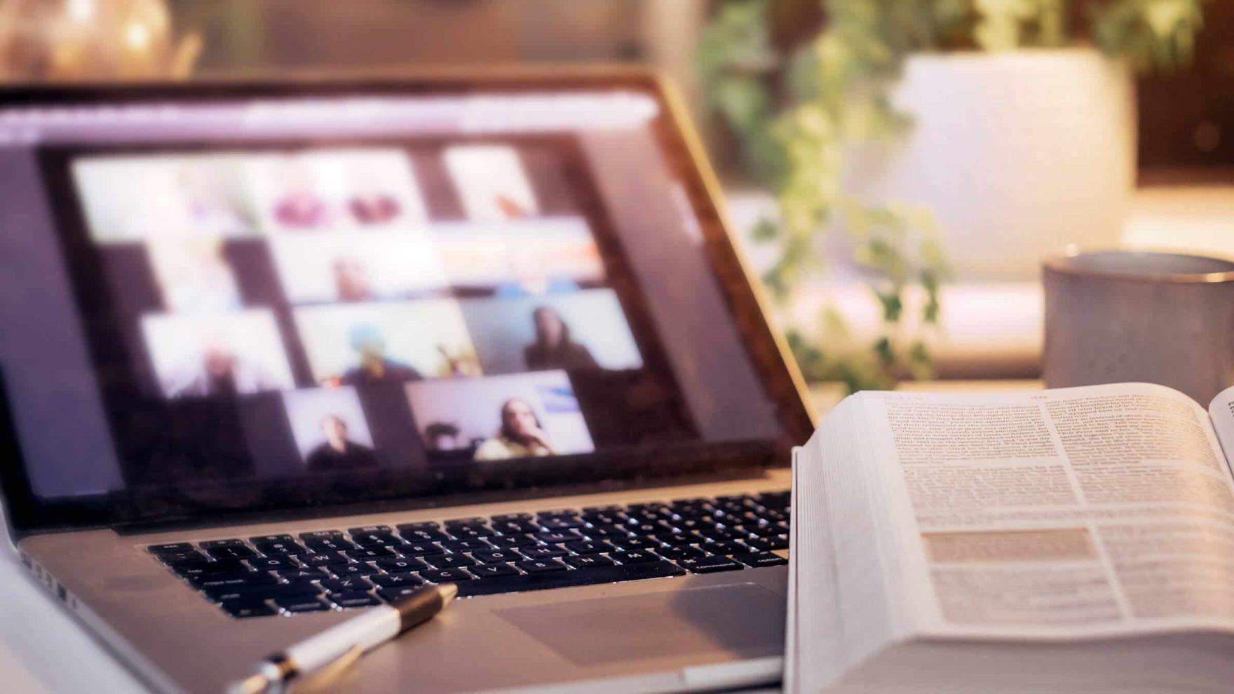 On online ministry group: Explore Regent's aligned Master of Divinity program.