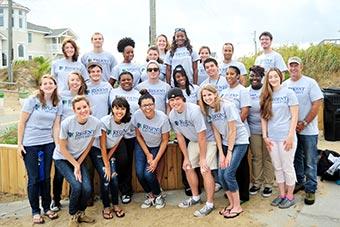 Student leaders at Regent University.