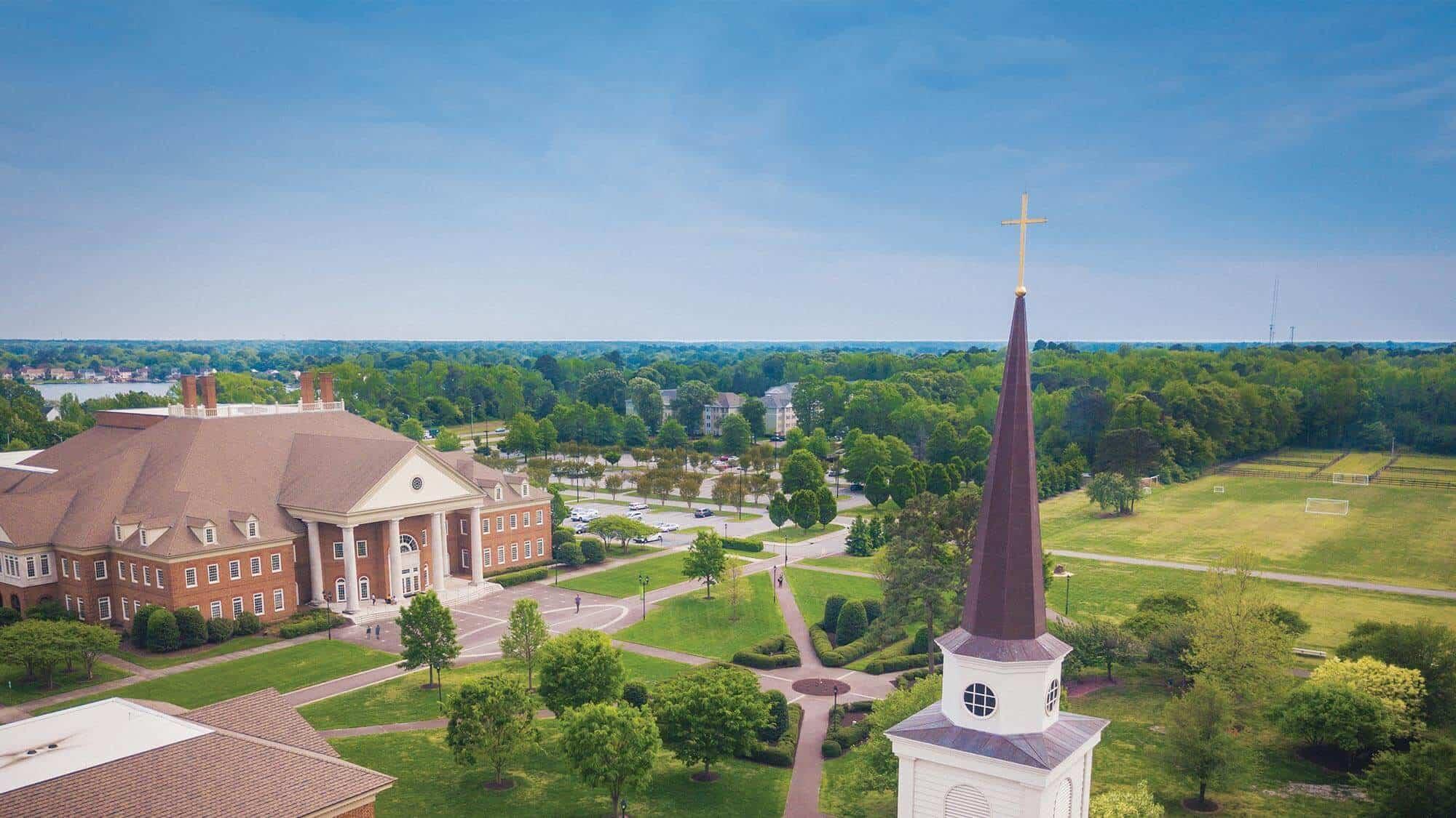 Regent University, located in Virginia Beach, offers a range of online degree programs.