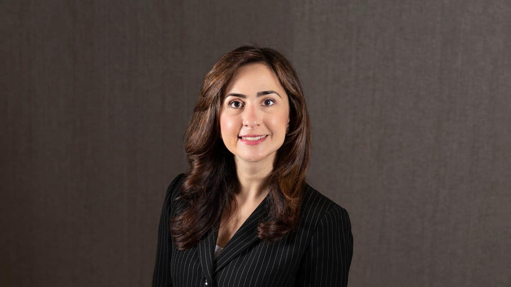 Regent's law school alumna Farnaz Thompson.