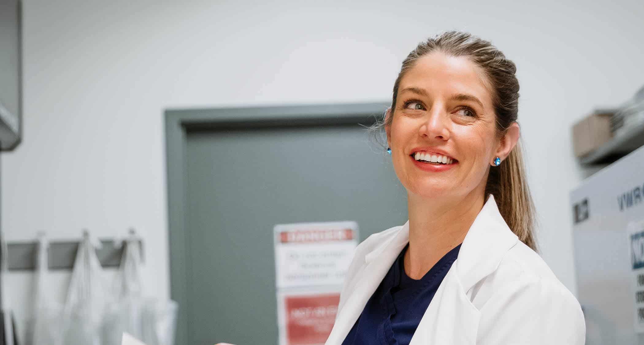 A healthcare professional: Regent University offers an MSN degree program online and in Virginia Beach, VA 23464.