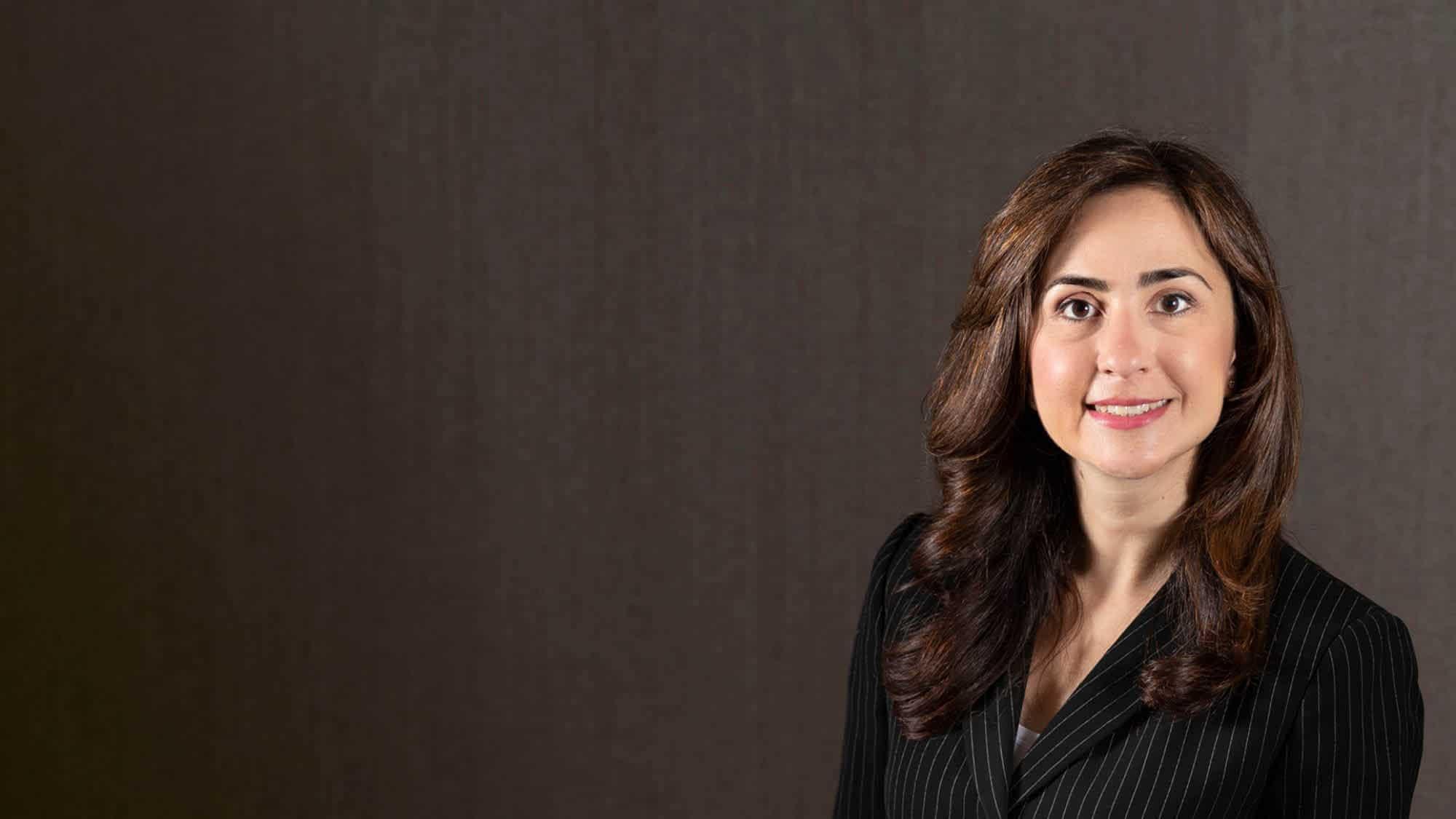 Regent School of Law alumna Farnaz Thompson.