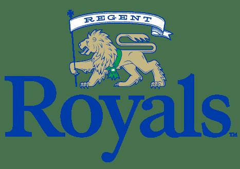 Regent Royals, the logo of Regent University athletics.