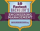 Regent University Ranked #8 of Top 10 Fastest Online Bachelor's in Engineering Management for 2022   BachelorsDegreeCenter.org