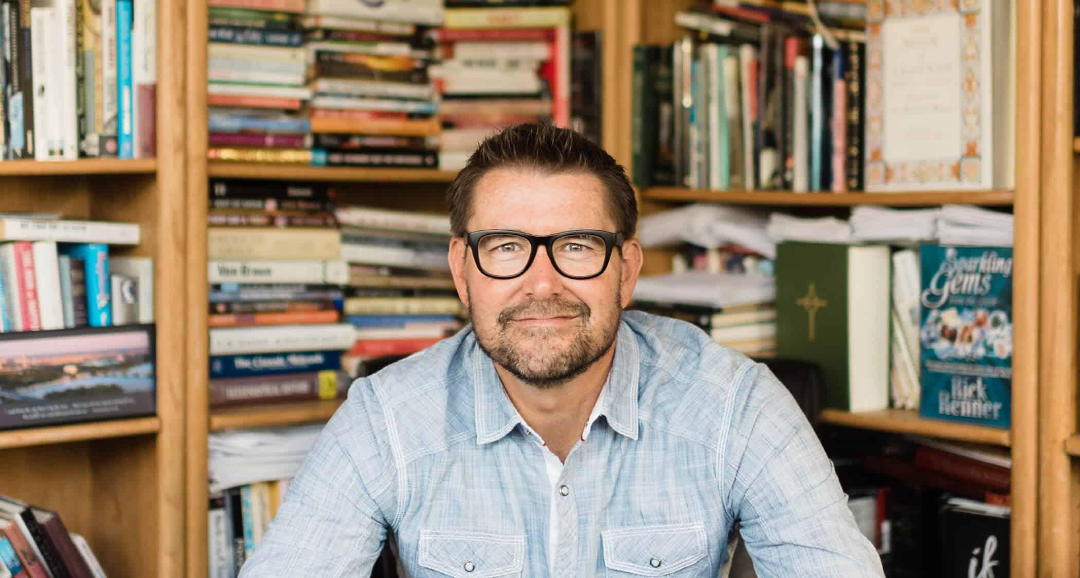 Mark Batterson, a pastor and an alumnus of Regent University's School of Divinity.