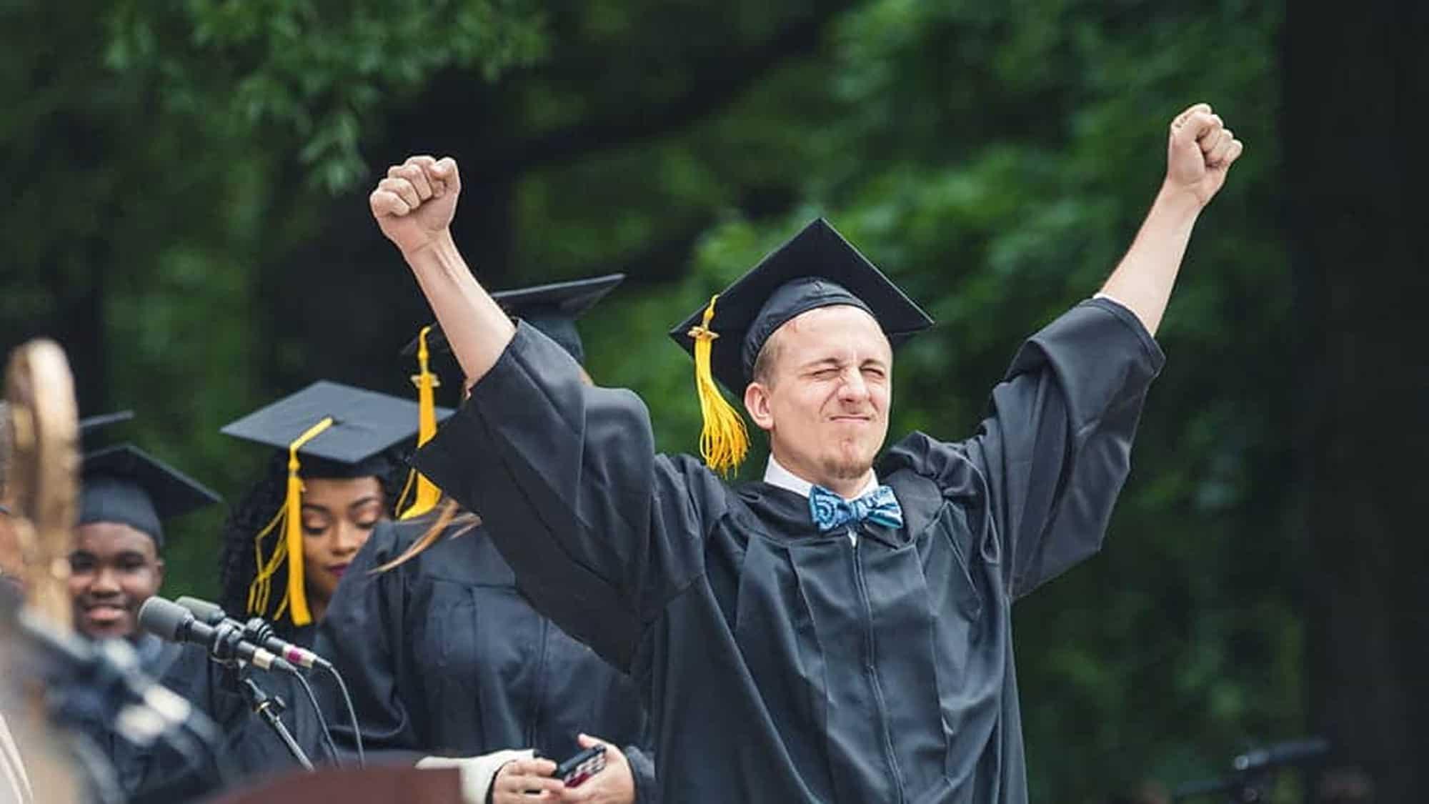 Graduates of Regent, a university that offers a fast-track nursing pilot.