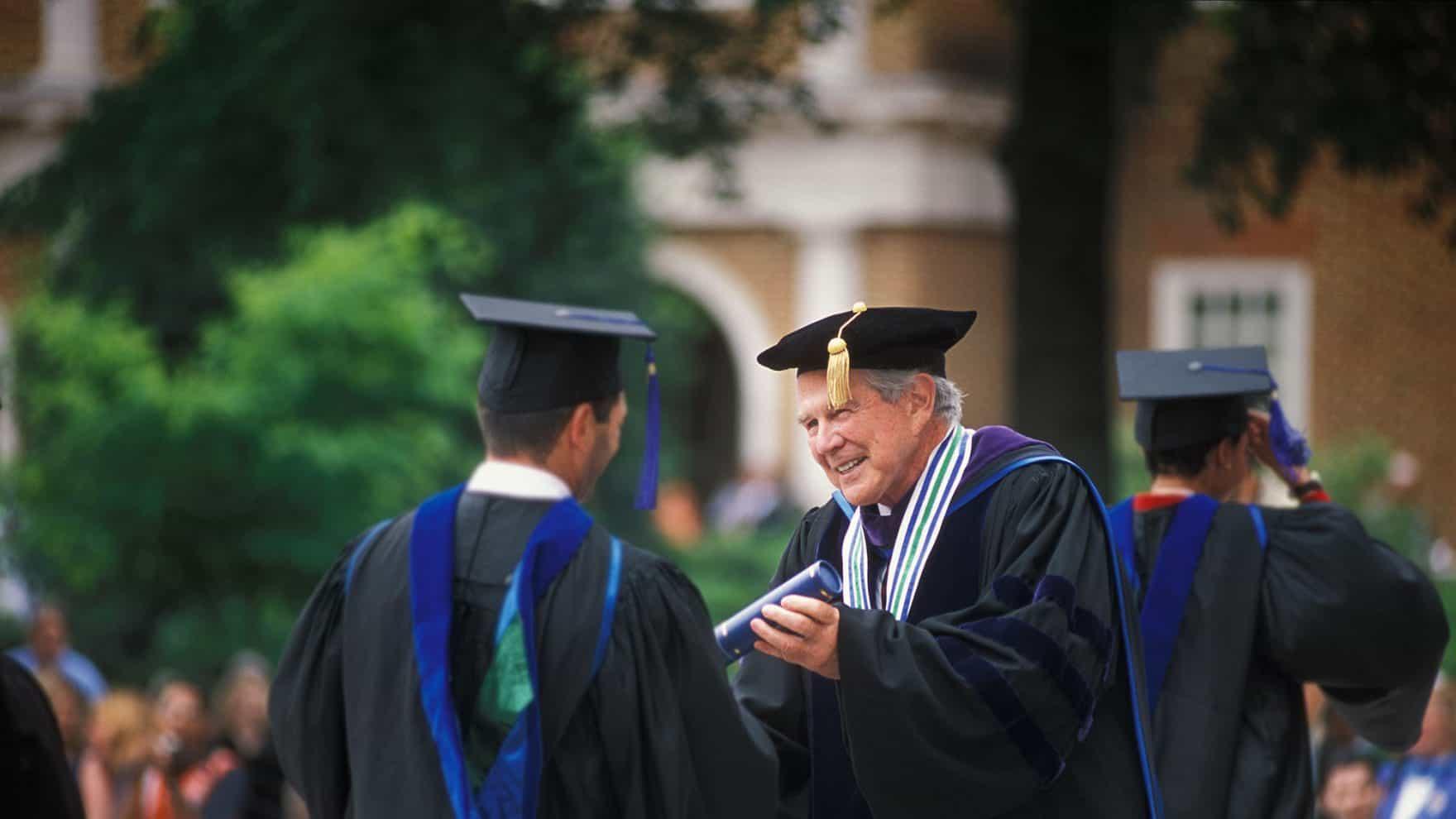 Pat Robertson Regent University in Virginia